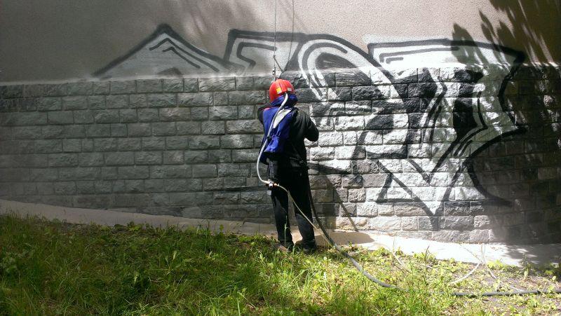 02 Odstranění graffiti