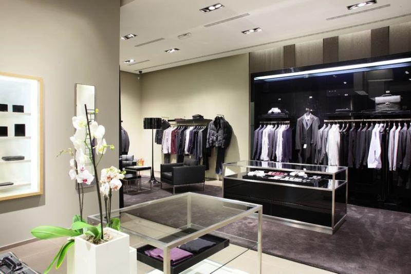 22133136 - luxury stylish and modern fashion clothes store