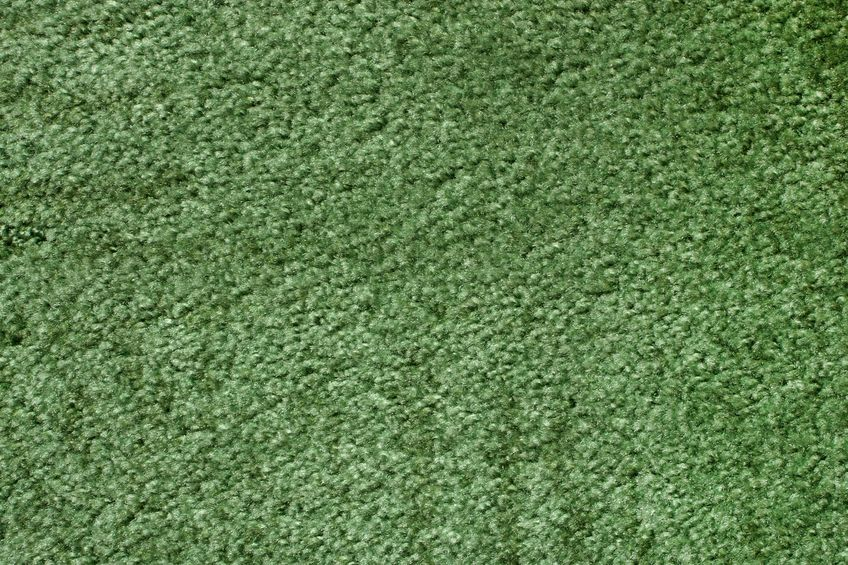 7752283 - a green carpet texture, close-up