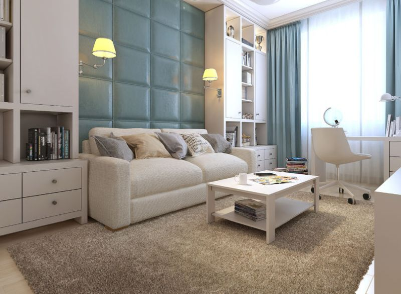 47512915 - guest room eclectic style, 3d images